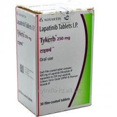Тайверб/Лапатиниб 250 mg, Tykerb,  для...