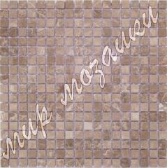 Mosaic from a natural stone