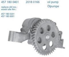 Масляный насос MB OM457 LASO 20180166 4571800401