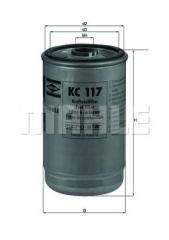 Фильтр топливный DAF Knecht KC117 0241505 0246548 0247138 0247139 1318695 1318696 1902133 51125030045 0000928301 KC7 50013683