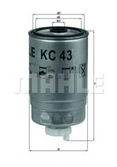 Фильтр топливный Iveco Knecht KC43 068127177B 1257201 1902138 190660 1902138 4792138 50013075 60507208 60732867 7700700092 9947340 CBU1920 KC18
