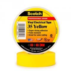 Scotch® 35 High Class PVC Insulating tape, yellow