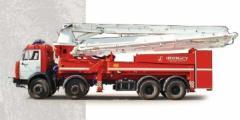 Пожарный пеноподъемник ППП-38-80