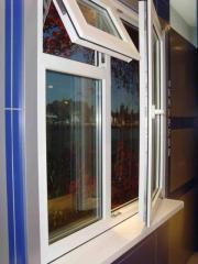 Windows from PVC Almaty, Akzhayik