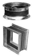 Вставки гибкие к радиальным вентиляторам: Н, В