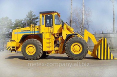 The wheel loader of production DRESSTA, Dresta,