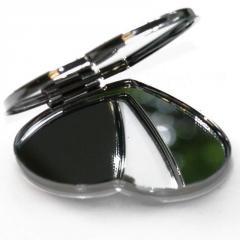 Pocket mirror metal, hear