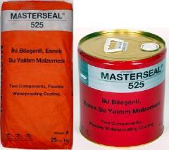 MASTERSEAL 525, Эластичное полимерцементное