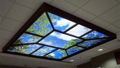 Interactive ceiling