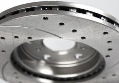 Automobile brake disks, blocks