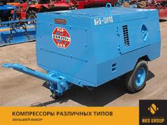Компрессоры и генераторы в широком ассортименте: