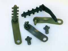 Locks assembly for a timbering