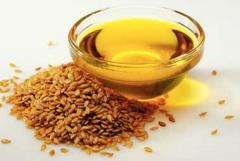 Processing of flax on oil, flax realization, flax