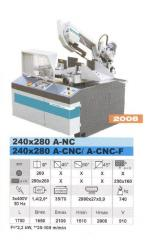 Ленточный станок Pegas 240*280 A-CNC/A-CNC-F