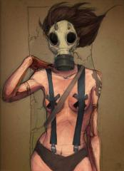 Gas masks civil pg-5