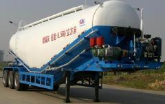 Cement truck 45 cube, Cement truck semi-trailer.