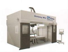 З-координатный станок гидроабразивной резки c ЧПУ SINTESY WJ