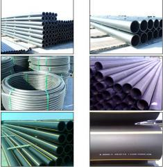 Pipes polyethylene for water - gas - warm
