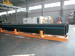 Pipes polyethylene sewer in Kazakhstan
