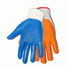 Gloves nylon with nitrile covering