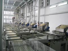NS-3 of the increased productivity: drying,