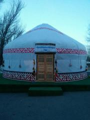 Yurt tent 16-minute cable car