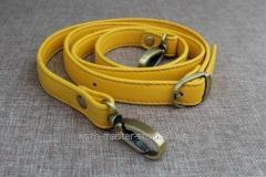 991 Ремешок эко-кожа 117см желт.