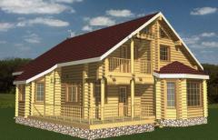 Дом сруб деревянный