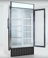 Холодильный шкаф для хранения продуктов и напитков