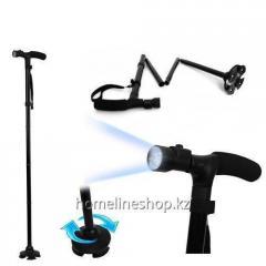 Телескопическая трость с фонариком Trusty...