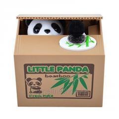 Piggy Bank Panda-thief
