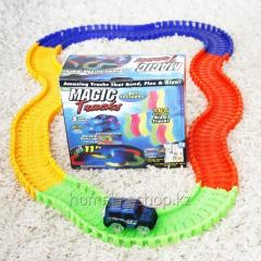 Children's toy road MAGIC TRACKS 165 parts +...