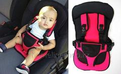 Frameless car seat for children