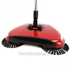 Double Broom 360 Sweeper