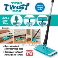 Швабра с отжимом Titan Twister