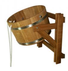 Обливное устройство (ведро) (лиственница)