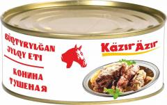 Canned Horse meat stew in / s