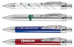 Нанесение логотипа на ручки, зажигалки