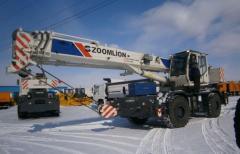 Автокран Zoomlion RT25