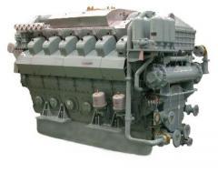 Двигатель Mitsubishi S12U-PTA , Mitsubishi