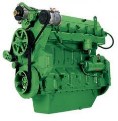 Дизельный Двигатель John Deere, двигатель John