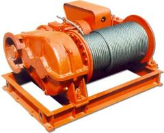 Winches are traction, production, Kazakhstan