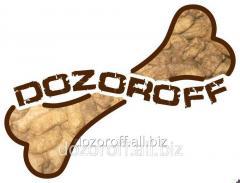 Корм для собак  сбалансированный DOZOROFF
