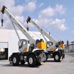Zoomlion crane RT75-beams
