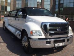 Лимузин напрокат в Алматы лимо, лимузины на