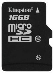 Kingston MicroSD Class 10 16GB