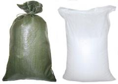 Sacks, packages, bags made of polyvinylchloride