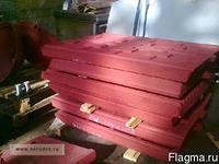 Плиты дробящие для дробилок смд 108-107-110-111