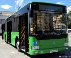 Autoglass for buses, Karaganda