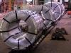 Zinc galvanized steel